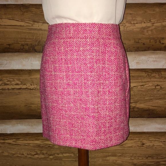 30e011af91 Banana Republic Skirts | New Pink Tweed Skirt | Poshmark